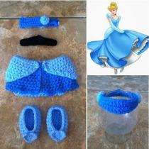 Disfraz Disney Tejido En Crochet Para Book Recien Nacido !