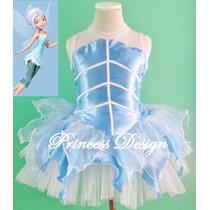 Disfraz De Princesa, Campanita,periwinkle, Tinkerbell