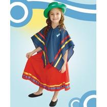 Disfraz De Coya Nene O Nena Talle 2 Al 12 Disfraces Patrios