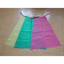 Capa / Disfraz Infantil De Friselina Lisa (varios Colores)