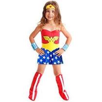 Disfraz Mujer Maravilla # P 2-4 Años Zona Devoto