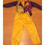 Disfraz De Murguero Para Varon Y Nena En Violeta Y Amarillo