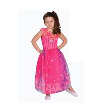 Disfraz De Barbie Puerta Secreta Largo Licencia New Toys