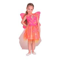 Disfraz De Barbie Puerta Secreta Con Alas Licencia New Toys
