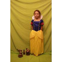 Vestido De Princesa, Blanca Nieves Super Resistente