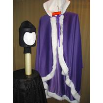 Disfraz Mala Blancanieves, Capa , Mascara