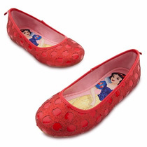 Zapatos Disfraz Blancanieves Disney Store Usa Original