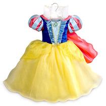 Disfraz Blancanieves Talle 4 Disney Store Importado De Usa