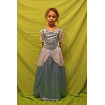 Vestido De Princesa, Cenicienta Super Resistente