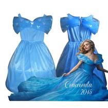 Disfraz Vestido Cenicienta Película Disney 2015 Cinderella
