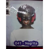 Accesorio Peluca Y Pañuelo Disfraz De Negrita Belgrano R