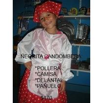 Disfraz De Negrita Candombera Patrios 25 De Mayo