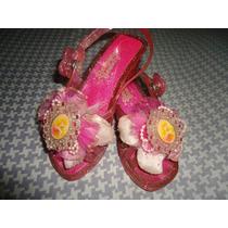 Zapatos Princesa Aurora T 26/7 Originales Disney Store Usa