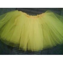 Disfraz Tutu Pollerita Bailarina Para Niñas De 3 A 6 Años