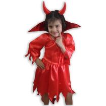 Disfraz De Bruja Halloween Diablo
