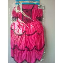 Disfraz De Dama Antigua Talles Del 2 Al 12 Patrios