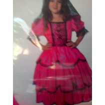 Disfraz De Dama Antigua Talles Del 2 Al 12