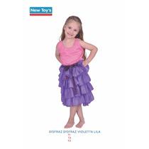 Disfraz Violetta Original Licencia Oficial Disney Microcentr