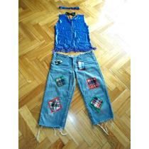 Disfraz Espantapajaros Far West Texana Multifacético