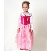 Disfraz Importado De Princesa Aurora De Disney T.6-8