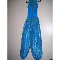 Disfraz De Princesa Genia En Talle 5/6 Años