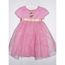 Disney Store Vestido Disfraz Original Princesas Talle 3 Años