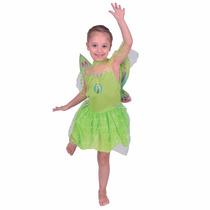 Disfraz Disney Fairies Campanita Tinkerbell.
