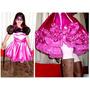 Barbie Mosquetera, Diseño Exclusivo!! Negro Y Fucsia