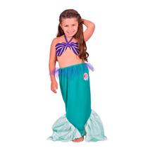 Disfraz Ariel La Sirenita Disney Original New Toys