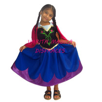 Disfraz Princesas Disney Anna Elsa Rapunzel Sofía Aurora