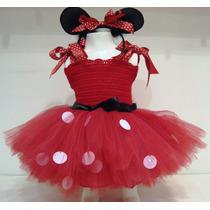 Hermoso Disfraz Minnie Para Bebas Y Nenas Talle 1 Y 2 Añitos