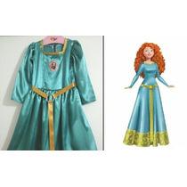 Disfraz Vestido Princesa Merida - Valiente