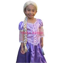 Disfraz Rapunzel Enredados Princesa Disney Vestido Nenas