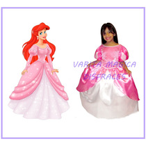 Disfraz Ariel La Sirenita Vestido Princesa Disney