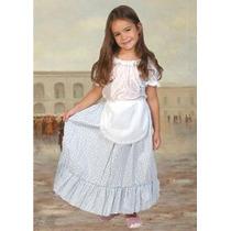 Disfraz De Paisana Para Niñas T 1 Al 3