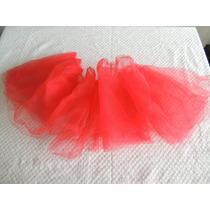 Tul Rojo Para Tu Tú De Bailarina. Falta Terminación