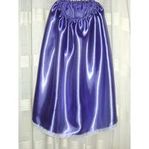 Disfraz Pollera De Dama Antigua