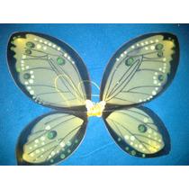 Alas De Mariposa Colores Nuevos 55 Cm X 45 Cm Amarilla
