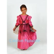 Disfraz Dama Antigua Patrio Acto Escolar Dama Vestido