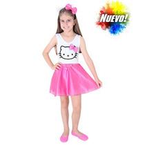 Disfraz Para Nenas Hello Kitty Saia Nuevo Modelo Original
