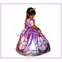 Disfraz Princesita Sofia The First Vestido Princesa