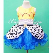Disfraz Princesa Vestido Vaquera Jessy Toy Story