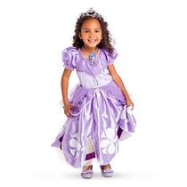 Vestido Disfraz Princesa Sofía Original Disney Store Talle 4