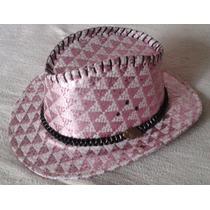 Sombrero Sheriff Callie Rosa Para Disfraz O Cotillon