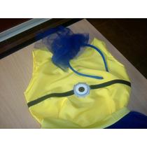 Disfraz Minion Nena- Talle 4-5 Años