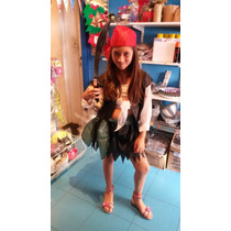 Disfraz De Pirata Para Nena De 3 A 5 Años