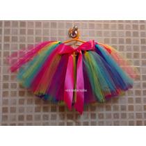 Tutu - Disfraz Para Princesas- Talle 8 Al 12 - Tul
