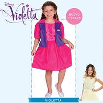 Disfraz Violetta Con Chaqueta Talle 3 Ploppy 590768