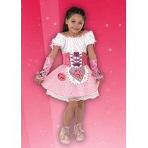 Disfraz De Panam Rosa Incluye Accesorios La Horqueta