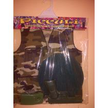 Set Con Accesorios Para Disfraz De Soldado